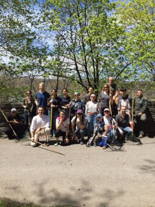 Cabrini Woods Stewardship Day