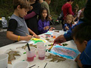 Fort Tryon Kids Art:Sketching & Painting Fall Foliage