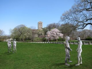 Public Art: Steinunn Thorarinsdottir ARMORS in Fort Tryon Park
