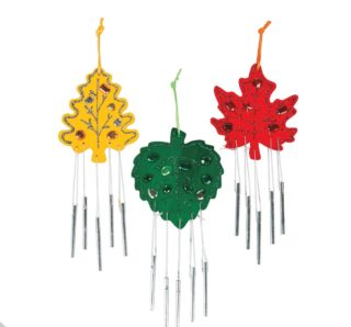Fort Tryon Kids Art: Early Winter Wind Chimes
