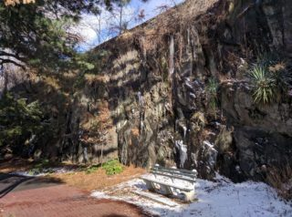 Fort Tryon Kids Art: Geological Abstract Painting